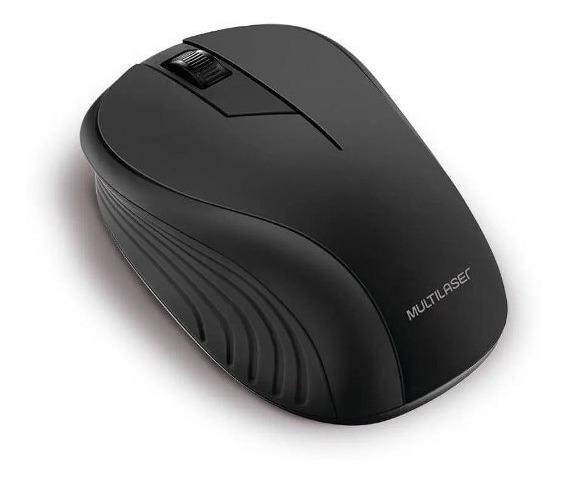 Mouse Sem Fio Multilaser Mo212 Tipo Usb Sensor Óptico C/nf