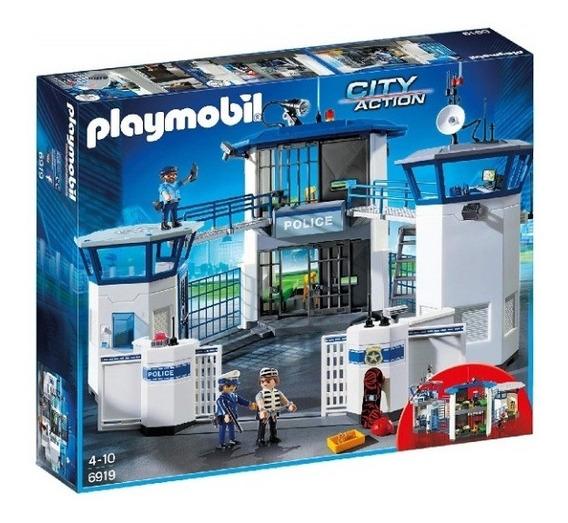 Playmobil - Comisaria Policía Con Prisión