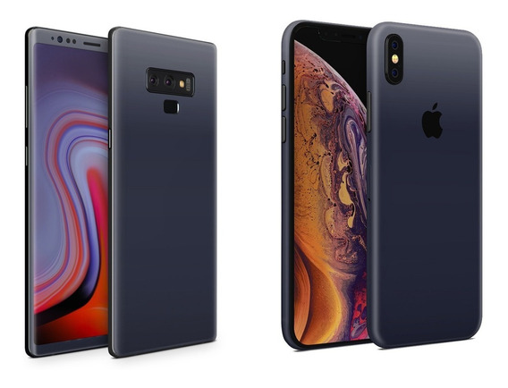 Skin Indigo Mate - Apple Samsung Huawei Lg Sony Xiaomi Etc