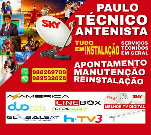 Imagem 1 de 1 de Tecnico De Antenas