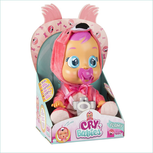 Boneca Cry Babies - Flamy