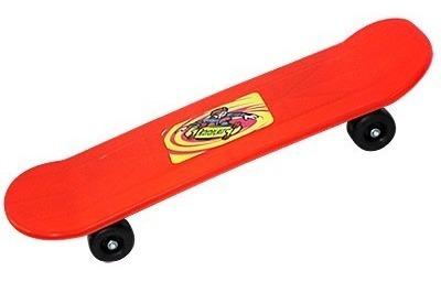 Skate Sport Plastico Para Crianças Material Resistente