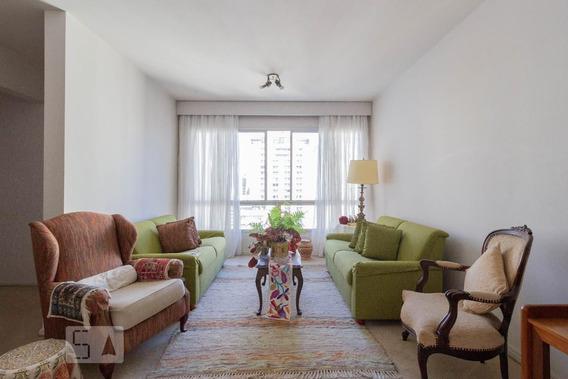 Apartamento No 14º Andar Mobiliado Com 2 Dormitórios E 2 Garagens - Id: 892946734 - 246734