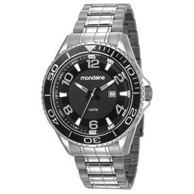 Relógio Mondaine Masculino Prata Aço Inox 83414g0mvns1