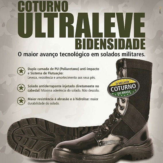 Coturno Ultraleve Atalaia - Militar Airsoft Paintball