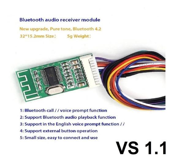 Nova Placa Kc-bt002 Receptora Som Áudio Mp3 Bluetooth 4.2