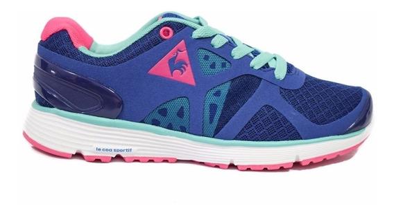 Zapatillas Le Coq Sportif Running Nouveau Mujer Azul Comb.