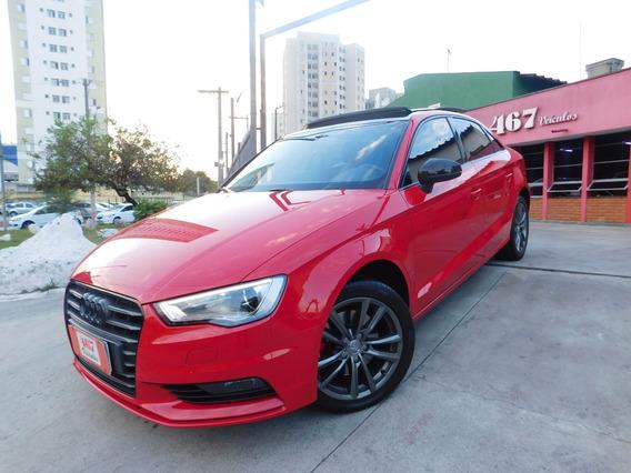 Audi A 3 Ambitiom 2.0 220cv 2016 Vermelha