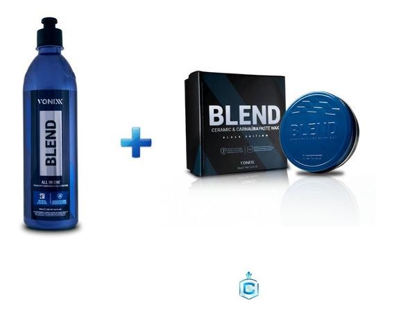 Blend All In One Novo Polidor Etapa Única+blend Black Vonixx