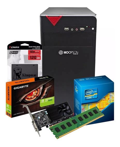 Pc Gamer Core I5 + Gtx 1030 2gb + Ssd 120gb + 8gb Ddr3