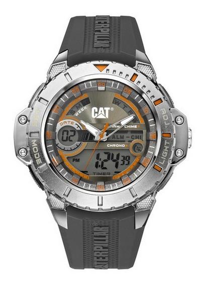 Reloj Cat/cab/caja:pvd Negro/correa:goma - Ma 155 25 534