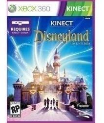 Jogo Novo Disneyland Adventures Kinect Xbox 360 Em Curitiba