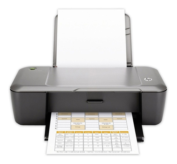Impressora Hp Deskjet 1000 - J110a (não Tem Scanner)