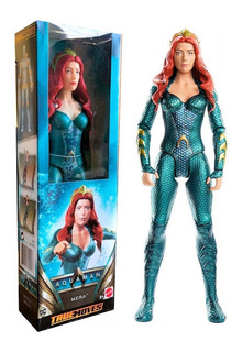 Mera Aquaman Muñeca 30 Cm Articulada Figura Dc Mattel Mrtoy