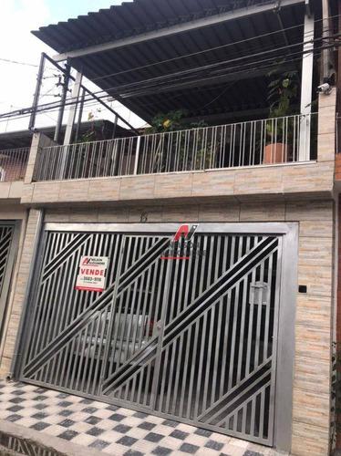 Sobrado Com 3 Dormitórios À Venda, 1087800 M² Por R$ 500.000,00 - Presidente Altino - Osasco/sp - So0046
