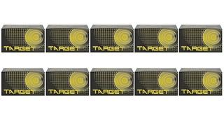 Chumbinhos Munição Carabina De Pressão 10 Target 4.5mm 200un
