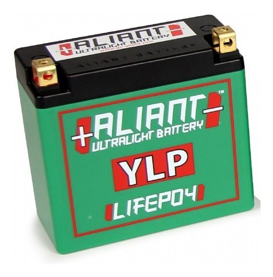 Bateria Italiana Para Moto De Litio Aliant Ylp24 24ah