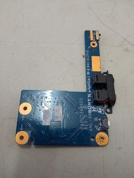 Placa De Audio Sony Pcg-51212x Da0gd3ab6d0 #183