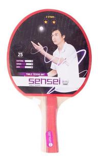 Paleta Ping Pong Sensei 2 Estrellas En Gol De Oro