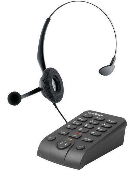 Headset Intelbras Icon 4013330 Hsb 50 Com Base Discadora