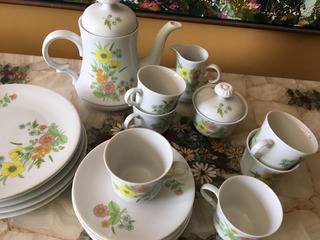 Vajilla De Desayuno Porcelana Bavaria Clásica