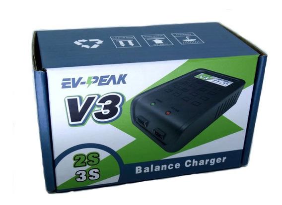 Carregador De Baterias Lipo/ Life V3 2s/3s - Bivolt
