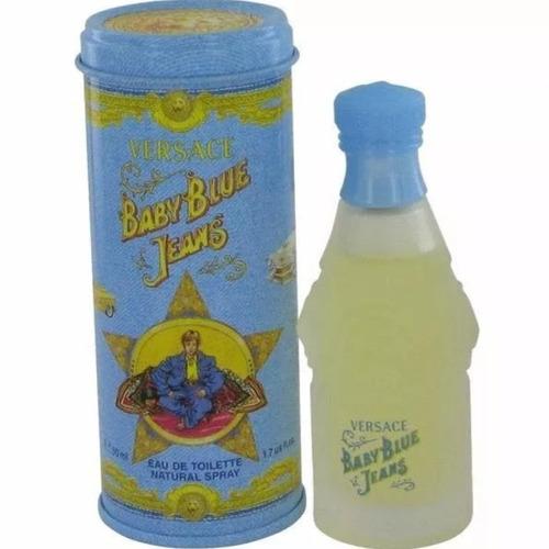 Perfume Original Baby Blue Jeans Versace Niño 50ml