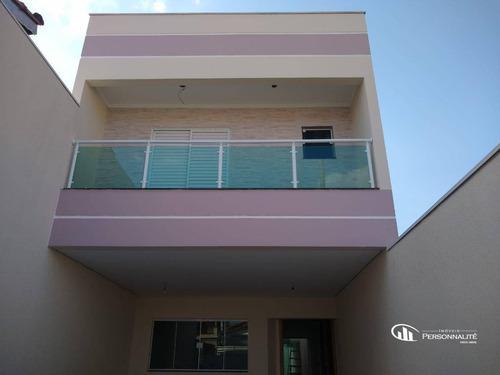Imagem 1 de 20 de Sobrado Com 3 Suites No Bairro Assunção - So0275