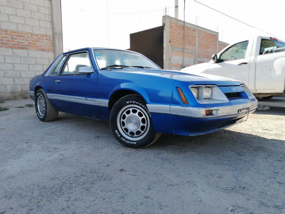 Ford Mustang 2 Puertas 8 Sil, 5.0l, Gt Cupe 1986