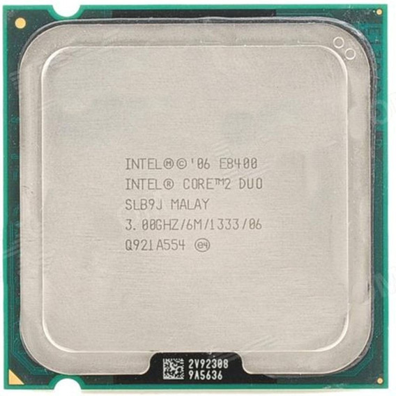 Processador Core 2 Duo E8400 Intel 3.00ghz Lga775 1333mhz