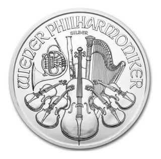 Moneda Plata .999 Filarmonica Austria 2015