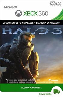 Halo 3 Xbox 360 - Español -- Envío Gratis -