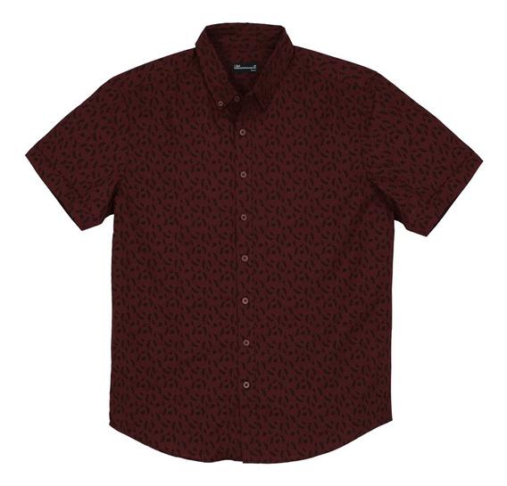 Camisa Corte Semi Ajustado De Hombre C&a 1055283