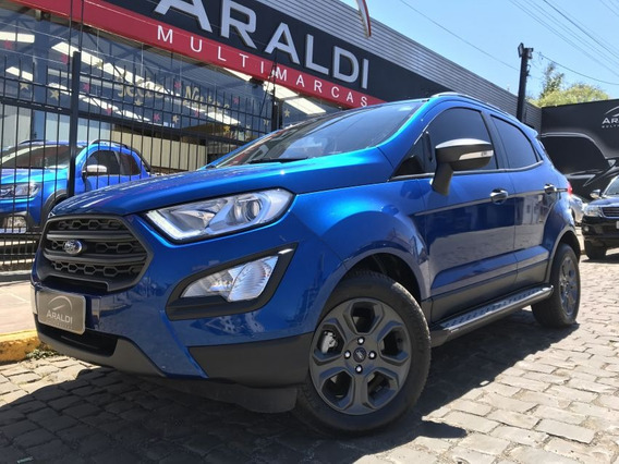 Ford Ecosport 1.5 Freestyle Automático 2018 Azul Flex