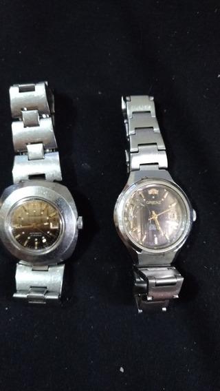 Relógios Orient Automáticos,os 2 Por 100