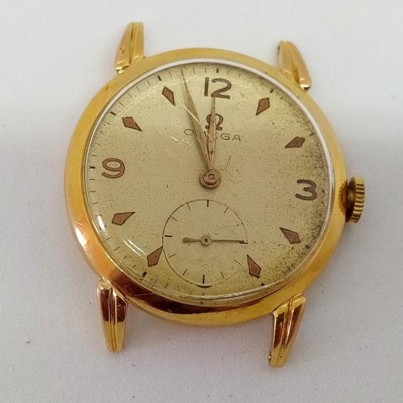 Relógio Omega Ouro 0,800 K 19k - A Corda Manual 35mm - Raro
