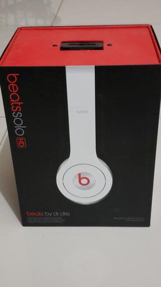 Fone Beats Solo Hd Original Branco Impecável
