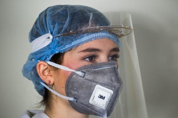 Protector Careta Facial Cubreboca Re-utilizable Pet Cristal