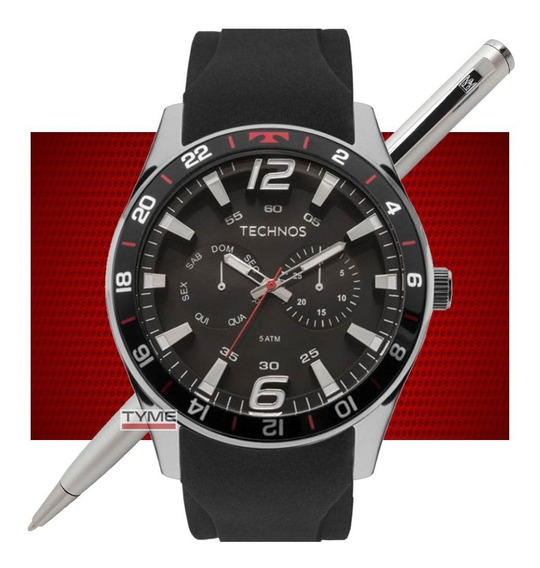 Relógio Technos Masculino Performance Racer 6p25bn/8p C/ Nfe