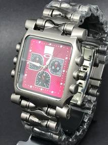 Relógio Masculino Oakley Tank Machne Minute Gearbox Titanium