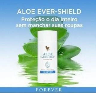 4x Desodorante Natural Forever Ever-shield
