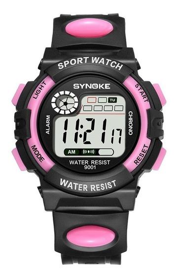 Relógio Infantil Synoke Varias Cores Digital Sport Com Luz, Alarme, Cronometro E Data Relógio Em Promoção