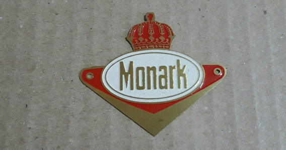 Plaqueta Brasao Monark Monareta