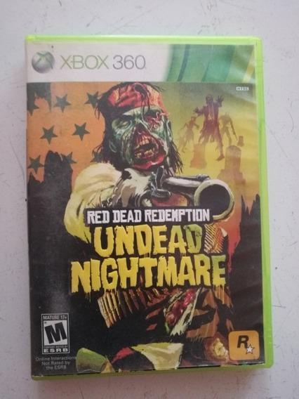 Red Dead Redemption Nightmare Xbox 360 Semi Novo