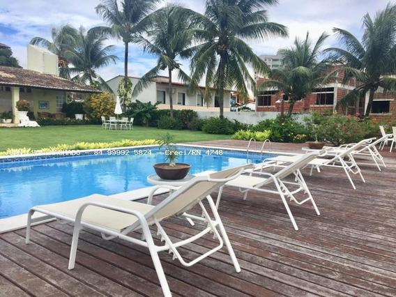 Casa De Praia Para Venda Em Parnamirim, Pirangi Do Norte - Casa De Rua Próximo Ao Porto Brasil, 3 Dormitórios, 3 Suítes, 5 Banheiros, 8 Vagas - Cas1066-casa Pirangi