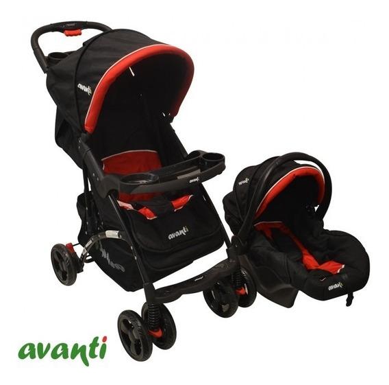 Coche Avanti Masori C/ Baby Silla (travel System) Rojo
