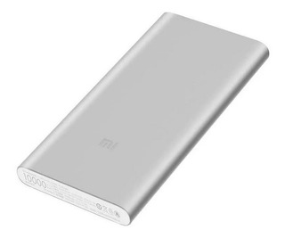 Batería Externa Xiaomi Mi Power Bank 2s 10000 Mah Plata