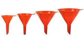 Sh2127 Jgo De Embudo Plastico 4 Pzas Dogo