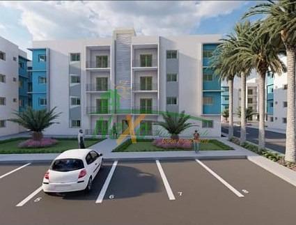 Apartamentos Nuevos Con Piscina En Gurabo Santiago (tra-255)