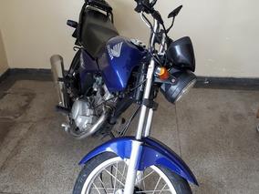 Honda Titan 150 Azul